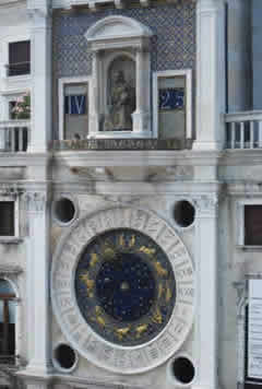 Saint Mark's Square Astrological Clock